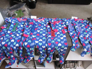 Sleepers, Carter's, Girls size 18 Month, BNWT -$6.00 ea.