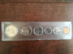 1969 Canada monnaie Coin dollar 50 25 10 5 1 cent