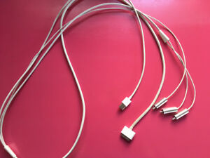 GENUINE APPLE 30 PIN AV CABLE