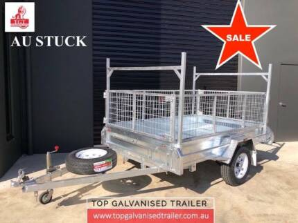 8x5 Galvanised Trailer Fully welded Tipper Heavy Duty With 600mm Ferntree Gully Knox Area Preview