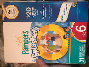 Pampers splashers, size 6
