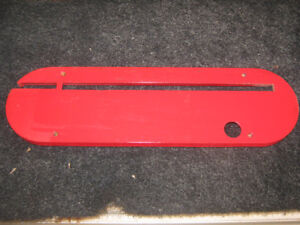 looking for blade insert for a Delta cast iron  table saw.
