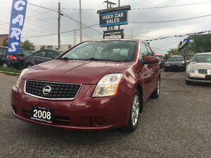 *LOW KMS*2008 Nissan Sentra 2.0 S Sedan