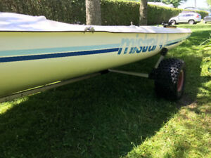 Mistral 4.7 voilier - Sailboat 4.7 Meters