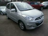 2013 Hyundai i10 1.2 Active 5dr Auto HATCHBACK Petrol Automatic
