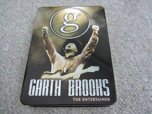 Garth Brooks - The Entertainer - 5 DVD Set in Steel Case
