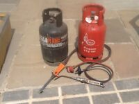 Potable mini gas welding and cutting set