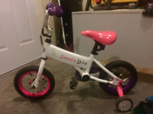 Girls bikes for sale! 12 inch and 16 inch