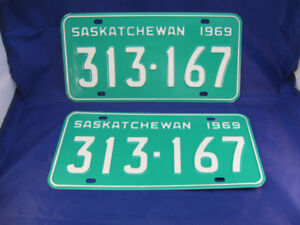 ** Classic Car or Truck  ? Vintage LICENSE PLATES **