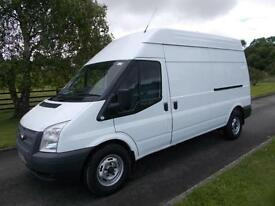 FORD TRANSIT 350 125PS LWB HI ROOF VAN 14 REG 59,000 MILES SIX SPEED