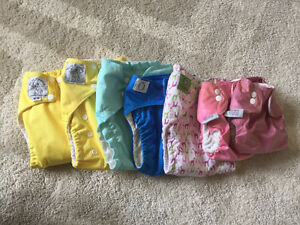 31 Cloth Diapers - mixed brands