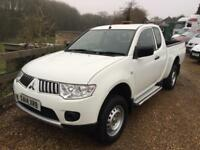 MITSUBISHI L200 4 LIFE CLUB CAB 4X4 PICK UP 14 REG
