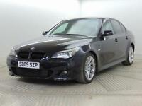 2009 BMW 5 Series 520D M SPORT BUSINESS EDITION Diesel black Automatic