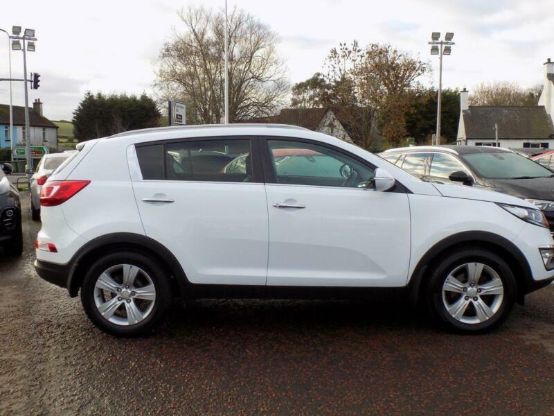 Kia Sportage 1 6 GDi 1 2 owners fsh just been mot,d +serviced | in Airdrie,  North Lanarkshire | Gumtree