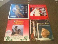 "Vinyl 12"" Christmas Theme Music LP's"
