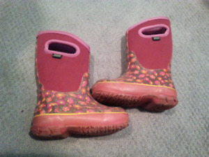Bogs Winter Boots Girls Toddler Size 10