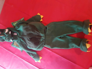 12-18 months  2 piece dragon costume EUC