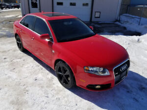 2008 AUDI A4 SLINE  *** FULLY LOADED QUATTRO  *** CERTIFIED