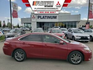2015 Toyota Camry SE  Leather-Backup Cam-Bluetooth-Alloy Wheels-