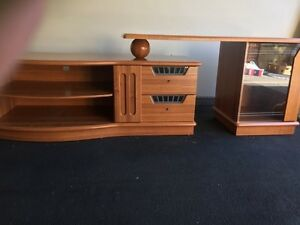 Timber buffet table /bar Macquarie Links Campbelltown Area Preview