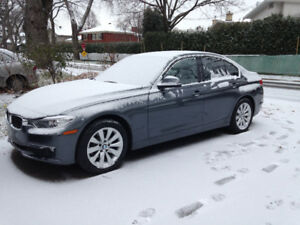 Winter Tires/Pneus d'hiver BMW 3 series Run-flat with/avec mags