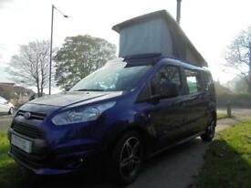 Ford TOURNEO CONNECT GRD ZETEC 2 berth campervan motorhome for sale