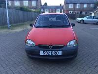 1998 Vauxhall Corsa 1.0 i 12v Envoy Hatchback 3dr Petrol Manual (137 g/km, 54