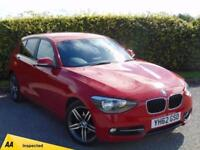 2012 62 BMW 1 SERIES 2.0 120D SPORT 5D DIESEL