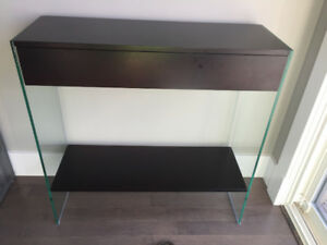 Brown Console Table
