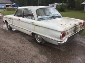 Old car. 1962 ford falcon very good original condition