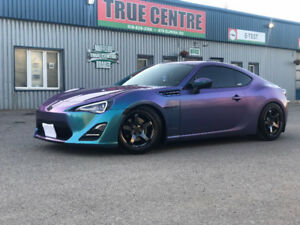 2016 Scion FRS - Wrapped ORACAL-Series-970RA - 30,000 KMs