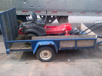 5x10 Utility Trailer Heavy Duty, works great newer tires.