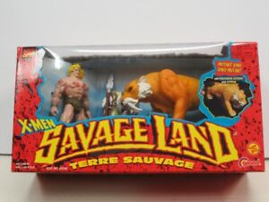 Toy Biz X-Men Savage Land figures new in box