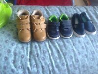 Bundle baby boy shoes in excellent condition