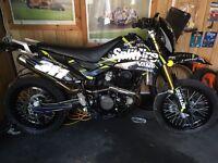 2015 pulse 250 cc supermoto
