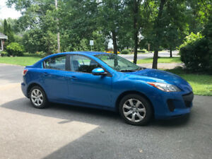 MAZDA3 2013 for sale!!! LOW KM! FULLY EQUIPPED!