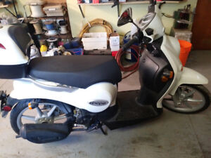 2013 Benelli Pepe 50cc Scooter - Only 29km!