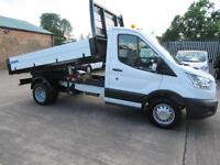 2015 New Shape Ford Transit 350 125 Single Cab Tipper Alloy One Stop Body