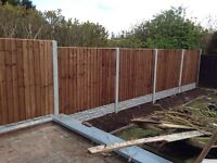 Fencing, slabs, turf, garden clearance,trees, gravel fence panels