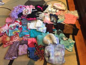 Girls size 7/8 Brand Name Clothing lot