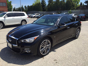 Cheap Lease Takeover - 2015 Q50 Limited Low KM, Bose, Luxury