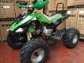 125cc Raptor Quad Bike Fully Automatic with Reverse BRAND NEW 2017!!