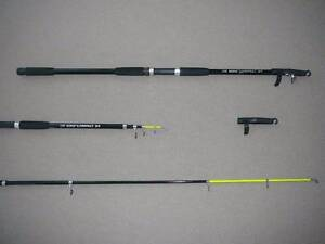 NEW TELESCOPIC FISHING ROD. OZKING COMPACT + FREE FISHING LURES Brisbane City Brisbane North West Preview