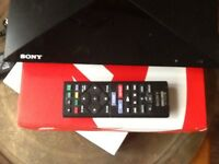 Sony Blu-Ray player with remote control