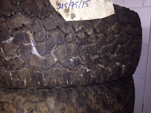 Excellent Condition Winter Tires 215/75/15