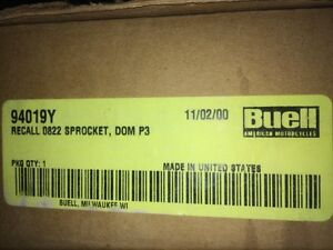 NIB NOS Buell Blast Rear Sprocket Belt Recall Kit