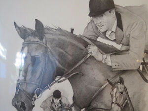 "EQUESTRIAN: TITLED ""THE GREAT CANADIAN "" IAN MILLER & BIG BEN. Kitchener / Waterloo Kitchener Area image 1"