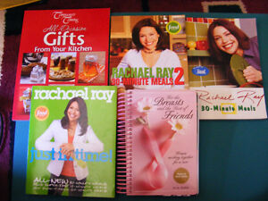 5 COOK BOOKS - SELLING AS 1 LOT ONLY