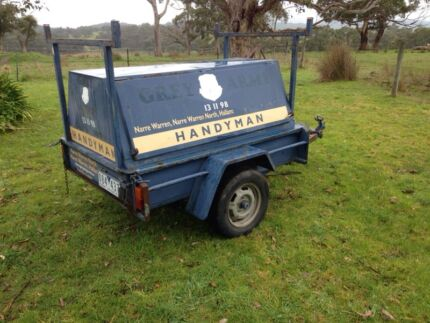 Tradie trailer 6x4 tool trailer handyman trailer Dromana Mornington Peninsula Preview