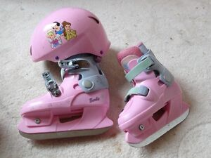 Chaussures De Patinage / adjustable Patinage shoes and helmet